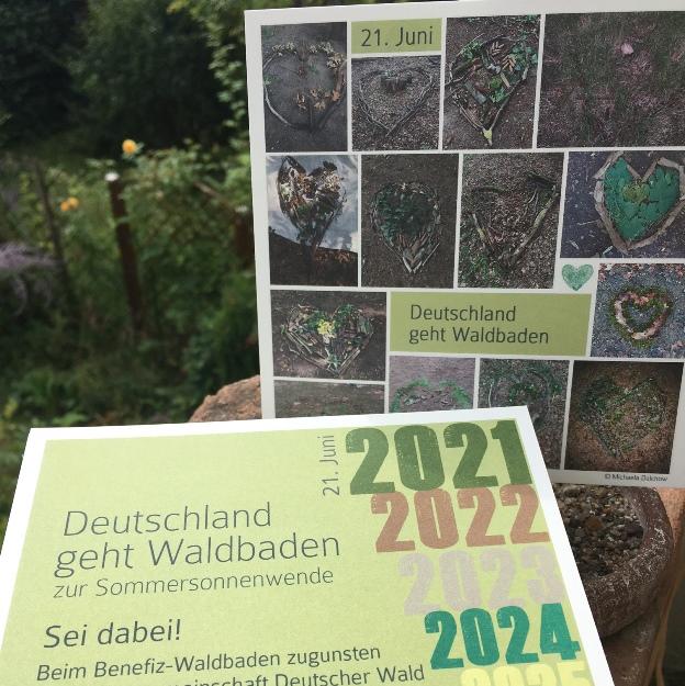 Deutschland geht Waldbaden!